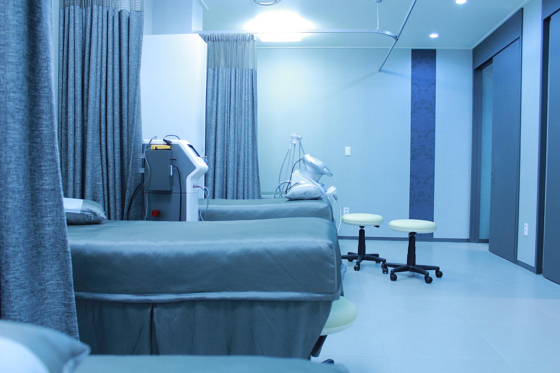 Trennvorhang Krankenhaus Wäsche